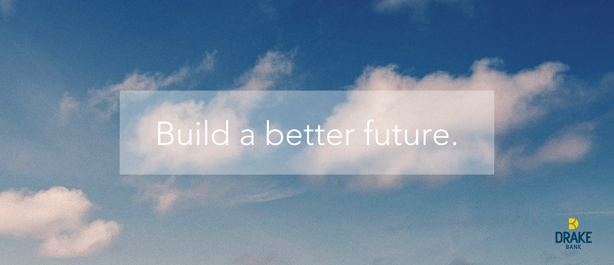 Build a better future
